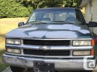 Make Chevrolet Year 1998 Colour Green Trans Manual kms