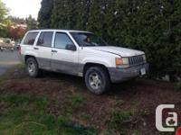 Make Jeep Model Grand Cherokee Year 1998 Colour white