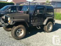 Make Jeep Colour Black kms 255000 4 inch lift , new