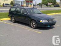 1998 Volvo V70 2.4 L FWD for sale. 298 k.  Great job or