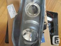 Pair of Angel Eye Headlights for a 99 00 Honda Civic.