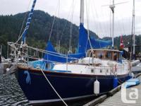 The 50' Sea Raker ketch was built in Tacoma and