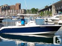 With its deep V hull, the 245CC is ready, willing and
