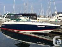 'AJ BULLET' has a sleek profile and luxurious amenities