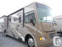 The Winnebago Vista 35 offers a complete steel frame