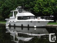 The Carver 356 Motor Yacht feels like a much larger