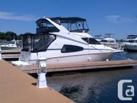 This 2003 Silverton 330 Sport Bridge is currently for