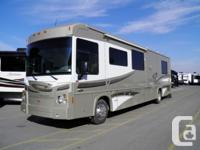 This is a super unique Class A motorhome- it is a Gas