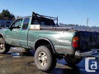 Make Toyota Model Tacoma Year 1999 Colour Green kms