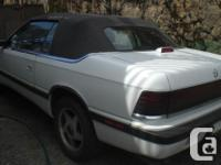 Make Chrysler Year 1990 Colour heather Trans Automatic