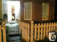 For rent one bedroom basement at the intersection Finch