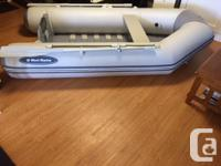 Excellent condition West Marine 9 foot inflatable.