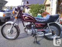 DESIRED:. An old Honda bike. If you have an old Honda