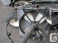 I am selling a Radiator from a 1999 Honda Civic 1.6