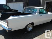 Make Ford Colour White Trans Manual 1966 Ford Ranchero
