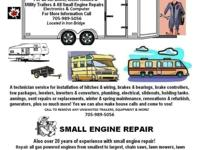A service technician for all motorhomes, travel