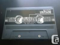 The cassette case has 1 UDll-CD 90 type ll. All other