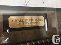 * A WALK IN THE WOODS by Stephen Lyman Stephen Lyman