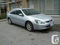 Gorgeous Silver 4 door 2004 Accord with only 168,000