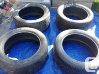 (6) GOODYEAR TIRES EAGLE GS-C SERIES PERFORMANCE TIRES