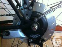 Excellent old school Swiss import, Shimano Nexave 8