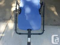 AB Lounge sport barely used blue color good condition, used for sale  British Columbia