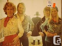 ABBA LP Waterloo (Atlantic SD 18101) released in 1974