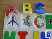"""Selling a wooden """"See-Inside"""" ABC puzzle - Pictures"""