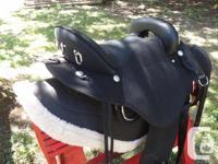 A new Abetta Cordura Stealth Flex Endurance Saddle with