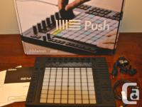 Ableton PUSH 64-pad controller, designed for Live 9., used for sale  British Columbia
