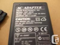 I have the following AC Adapters adapter / adaptor For