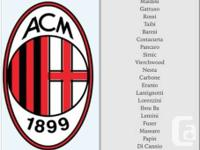 AC Milan v Benfica Legends Cup Match May 21st @ BMO