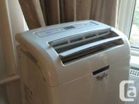 Whirlpool 10,000 BTU Portable Ac system. New in 2012,