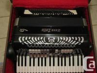 Zero Sette Accordion in excellent condition.  Model