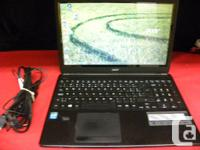 Acer 15 inch laptop with bluetooth running Windows 8