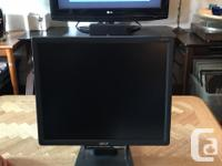 "Acer 17"" Monitor AL 1716. VGA hookups. Reliable good"