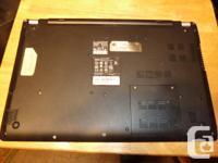 "Acer V5-531 slim laptop 15.6"". Windows 7 home premium"