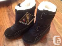 Offering a pair of brand new PUMA Acima Gore-Tex