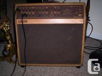 very good Crate CA112D Acoustic Amp. $300 O.B.O. or