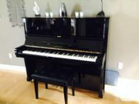 This piano costs about $8000 brand-new. It is in