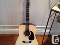 I'm looking to sell my acoustic full sized guitar.