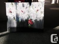 "Acrylic Painting - hidden rose, 16"" x 20"". Gloss"