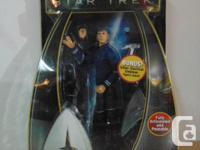 Action Figure New Toy Star Trek Playmates Warp