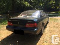 Make Acura Model Legend Year 1993 Colour green kms
