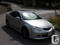 I have a 2004 Acura RSX-S available for sale. I am the