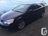 Make Acura Model RSX Year 2002 Colour Black kms 198000
