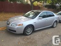 Make Acura Model TL Year 2004 Colour Silver kms 213000