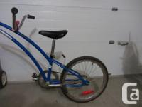 Unisex 20inch blue Adam's trail a bike for your child