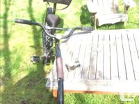 In good used condition. Has great seat back with
