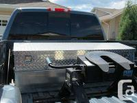Low Profile (rests below leading of truck box). Approx.